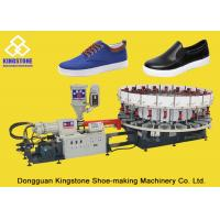 One Color String - Lasted PVC Shoes Making Machine With 210-260 Mm Shoe Last Height