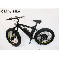 26x4.0 Inch Electric Fat Tire Cruiser Bicycles / Mountain Bike With Big Huge Tires