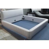 Wholesale Pu leather padded headboard, modern design leather bed from china suppliers
