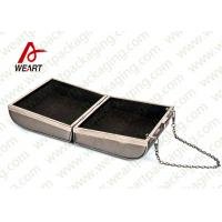 Wholesale Grey Cardboard Gift Contanier Customized Paper Box Flat Tape Rope from china suppliers