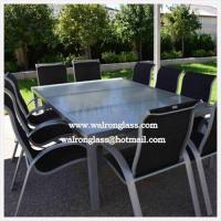 Wholesale Polished Outdoor Table Top with Toughened Glass from china suppliers