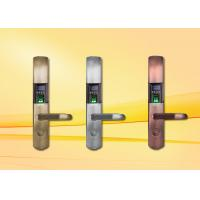China Fingerprint Door Lock with OLED and USB interface , support Spanish / Arabic / Portuguese on sale