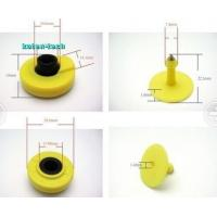 Wholesale ISO 11784 Standard RFID Access Control UHF RFID TPU Material Ear Tag Yellow from china suppliers
