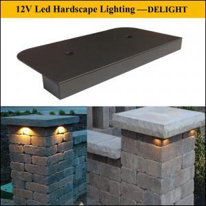 12V led Under Rail Light kit, LED Hardscape light for Wall /Tread Light,led Column Light