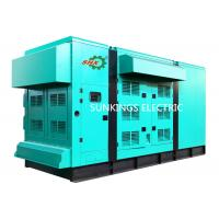 Buy cheap 20~500Kw Silent Diesel Generator Set AC 3 Phase Soundproof Generators from wholesalers