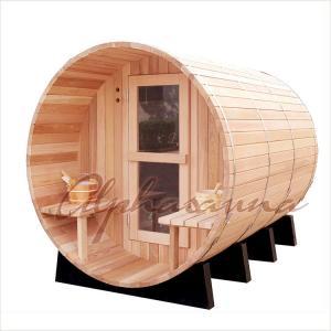 China Nordic Type Life Red Cedar Sauna Kit / Dry Sauna Accessories Big Capacity on sale