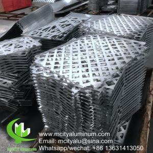 China China supplier Customized Aluminum Panel , Aluminum Interior Panels Wall Cladding on sale