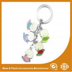 China Baby Shape Drop Personalised Engraved Keyring / Customised Key Chains on sale