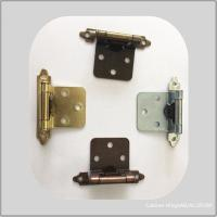 Wholesale 1.4mm Brass Plated Heavy Duty Commercial Door Hinges Bass Iron Metal Meterial from china suppliers