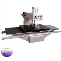Pneumatic double station heat prees transfer sublimation machine for cloth and