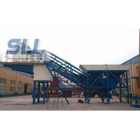 Wholesale Small Scale Building Mobile Concrete Batching Plant OEM / ODM Available from china suppliers