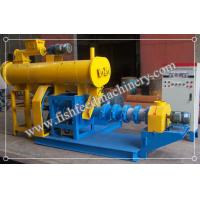 Buy cheap Alloy Steel Wet Type Fish Feed Extruder 180-200kg/h FY-DSP60 for Fish Feed Production from Wholesalers