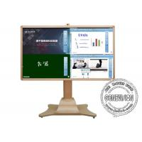 China Meeting Room Samsung Panel Smart Interactive Information Kiosk Camera Video Conference Machine on sale