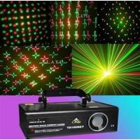 Wholesale CE&RoHS Sound activated full color RGB flower gobo party, Clubs laser effect lighting A6 from china suppliers