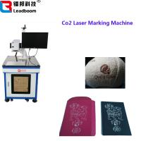 Buy cheap Air Cooling Co2 Laser Marking Machin For Food Packaging / Wood Products from wholesalers