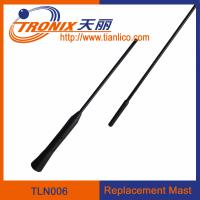Wholesale 1 section mast car antenna/ replacement mast car antenna/ car antenna accessories TLN006 from china suppliers