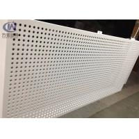 Wholesale 1220*2440mm Round Hole Bending Perforated Aluminum Sheet Metal for Inner Decoration from china suppliers