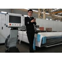 Wholesale High Speed CNC Fiber Metal Sheet / Stainless Steel Laser Cutting Machine from china suppliers