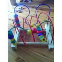 Wholesale Giraffe Colorful beads wooden Rack from china suppliers