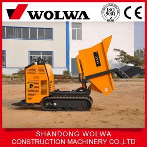 China mini dumper crawler 600kg capacity small dumper GN05A on sale