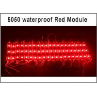 China 3led 5050 SMD LED modules 12V outdoor advertising lighting board on sale