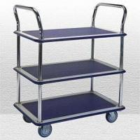 Wholesale Three-shelf Trolley with Double Handles, Measuring 890 x 590 x 965mm from china suppliers
