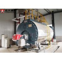 Wholesale Three Pass Fire Tube Steam Boiler / Automatic Diesel Steam Boiler 2400 Kg/Hour from china suppliers