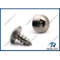 Wholesale Passivated Stainless Steel 410 Square Drive Truss Head Sheet Metal Screws from china suppliers