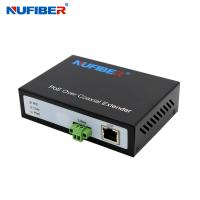 Wholesale NF-9802 IP Ethernet Over Coaxial Extender, 2 Wire Lan Extender with POE Function 0-300meters from china suppliers