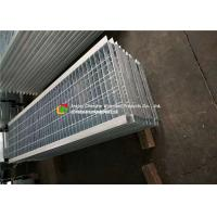 Wholesale Angle Bar Welded Steel Grating , Reinforced Concrete Areas Heavy Duty Bar Grating from china suppliers