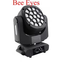Wholesale Beam Wash LED 19 X 15W Bee Eyes 4 In 1 Moving Head With Zoom For Show from china suppliers