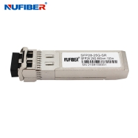 Wholesale DWDM 10KM LC 25G SFP28 Transceiver For Huawei Cisco HP Aruba Mikrotik from china suppliers