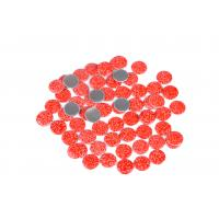 Quality Lead Free Loose Hotfix Rhinestones Glass Material 12 / 14 Facets With Multi Colors for sale
