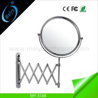 China hanging pocket mirror factory, wall mounted bathroom makeup mirror on sale