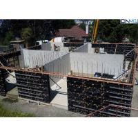 China Vertical Wall Formwork System Composed With H20 Beams , Steel Walings , Plywood on sale