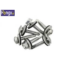 Wholesale EPDM Stainless Steel Flat Washers Galvanized Black Color For Self Drilling Screw from china suppliers