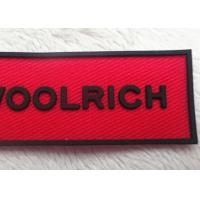 Wholesale Small Letters Clear LOGO Patches For Garment / Custom Applique Patches from china suppliers
