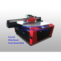 Buy cheap Multi Colour Digital Glass Printing Machine For Office / Home Decoration from wholesalers