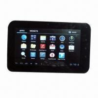 Wholesale 7 Inches Tablet PC with Android 4.0, Boxchip A13, Capacitive Multi-touch Screen and 2800mAh Battery from china suppliers