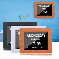 Wholesale Digital Clock Invitation Lcd Video Greeting Card 5 Alarm Options 1024*768 Resolution from china suppliers