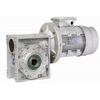Quality Double Shaft Mounted Nmrv Worm Gear Reducer , Pre-Stage Reduction Gear Unit for sale