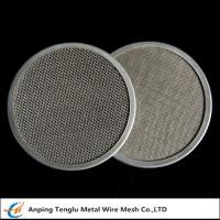Wholesale Stainless Steel Filter Disc|Materials SUS302/304/316 with Single or Multiple Layers from china suppliers