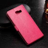 Wholesale Crazy Horse Samsung Leather Wallet Case For Samsung A7 Magnet Folio Style from china suppliers