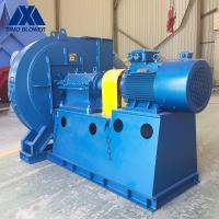 China High Wear Resistance Industrial Centrifugal Fans Carbon Steel Boiler Exhaust Fan on sale