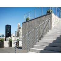 Wholesale Stainless steel inox round 8mm rod railing for balcony/ stair exterior from china suppliers