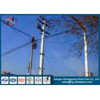 Wholesale Anti - Rust Tubular Electric Steel Pole For Transmission Line Pole from china suppliers