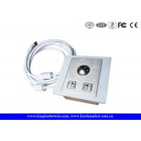 Wholesale Panel Mounted Industrial Pointing Device Stainless Steel Trackball Left Right Click Buttons from china suppliers