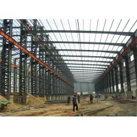 China Industrial Steel Structure Warehouse Buildings Eps Sandwich Panel Wall / Roof on sale