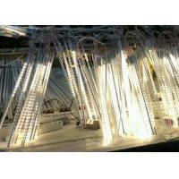 Wholesale White / Red 72LED Meteor Shower Tree Lights Shower Rain 0.8m Double Side 3D 5050SMD from china suppliers