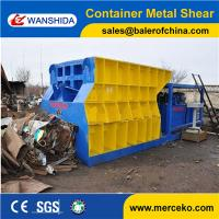 Wholesale Customized Automatic Container Scrap Shear box shear for propane tank gas tank manufacture price from china suppliers